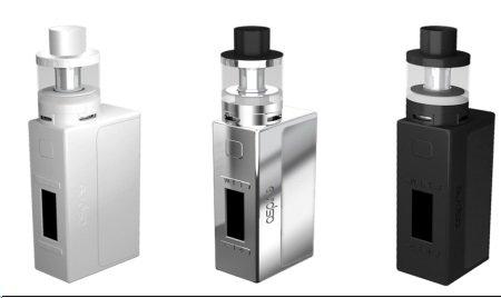 Aspire EVO75 Set / NX75 TC Box 75 Watt/EVO Verdampfer 2ml - schwarz, 1 Stück