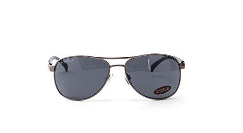 Wesentlicher Schutz Für Die Haut (Perry Ellis Herren Sonnenbrille Gunmetal matt Metall Aviator pe23–5, inkl. Perry Ellis Tasche, 100% UV-Schutz)