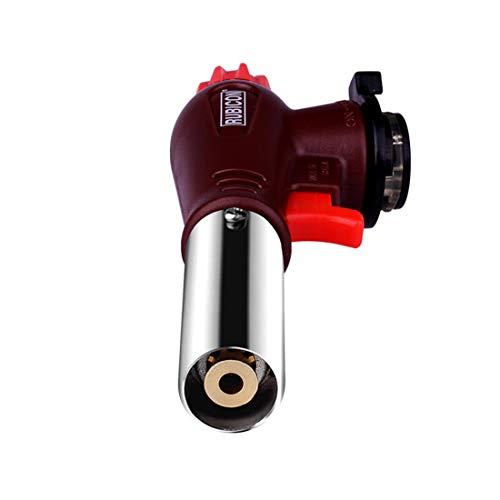 Gmjay Lötlampe Butanküchenfeuerzeug Einstellbare Flamme Geeignet Für BBQ/Automatische Zündung/Schweißen/Engineering (Engineering Schweißen)