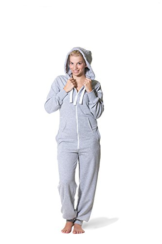 Jumpster Jumpsuit LEISURE Grau Slim Fit