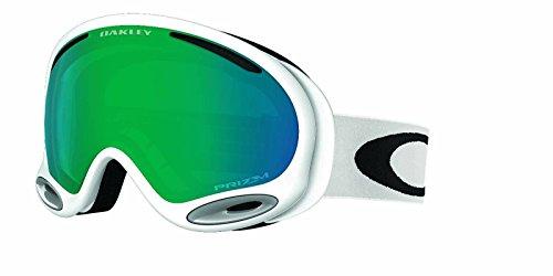 Oakley Unisex-Erwachsene A-Frame 2.0 704454 0 Sportbrille, Weiß (Polished White/Prizmjadeiridium), 99
