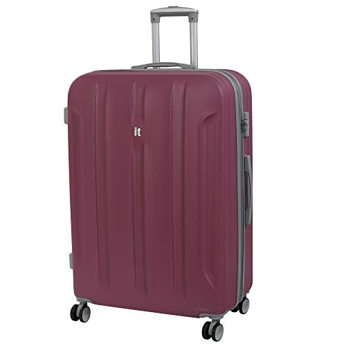 it luggage Proteus 8 Wheel Hard Shell Single Expander Suitcase with TSA Lock Koffer, 80 cm, 161 liters, Pink (Malaga)