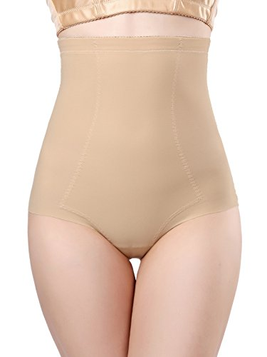 Firma Control Hi-taille Kurz (DODOING Slimming Panties Postpartum Unterwäsche Nahtlose Körper Bauch Shaper Unsichtbare Butt Lifter Bauch Kontrollhöschen Hohe Taille Trainer Shapewear für Frauen - Einfach für Badezimmer Unterwäsche)