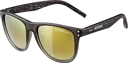 Alpina Unisex- Erwachsene RANOM Sonnenbrille, grau, One Size