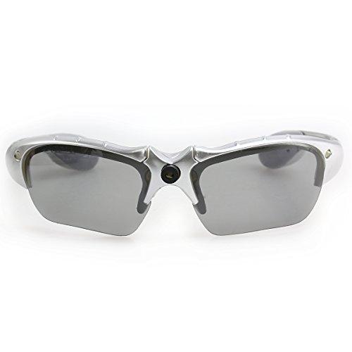 PIXNOR Sportbrillen LED Leuchten Brille Party Brille (Silber) (Led-leuchten Halloween-kostüm Aus)