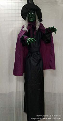 Halloween Kürbis Taro Hexe Horror Scary Scream Blutige Hexe Ghost Festival Room Escape Zombie Mumie Kunststoff Bubble Cage Todesstrafe Tricky Spider Requisiten Bar KTV Mall Dekoration Anhänger