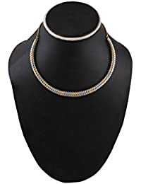 Bold & Beautiful Hansli Style Metal Necklace