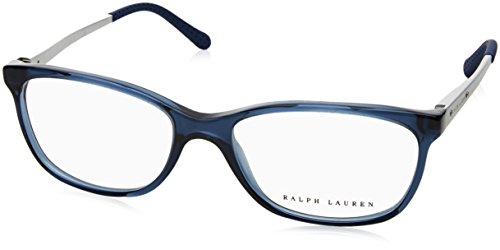 Ralph Lauren - RL 6135, Rechteckig, Acetat, Damenbrillen, DARK BLUE(5276 A), 52/16/140