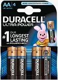 Duracell MX1500 Ultra Power Mignon 1,5V AA Batterien 4-er Pack