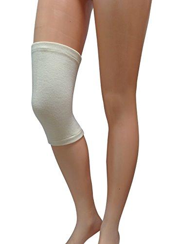 Relaxsan ag01 (tg.4) ginocchiera termica tubolare in lana e angora fascia ginocchio unisex