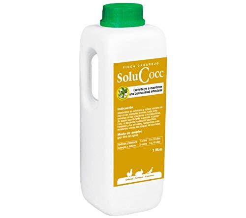 FINCA CASAREJO SoluCocc - Desparasitar gallinas. Tratamiento prevención de coccidios en gallinas, Conejos y faisanes. 250ml y 1Litro (1)