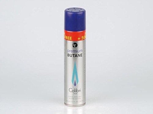 """Original Colobri Feuerzeuggas Butangas \""""absolut hochrein\"""" 250ml +50ml (300 ml)"""