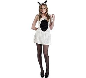 Limit Sport - Vestido y diadema de ovejita para adultos, talla S (MA757)