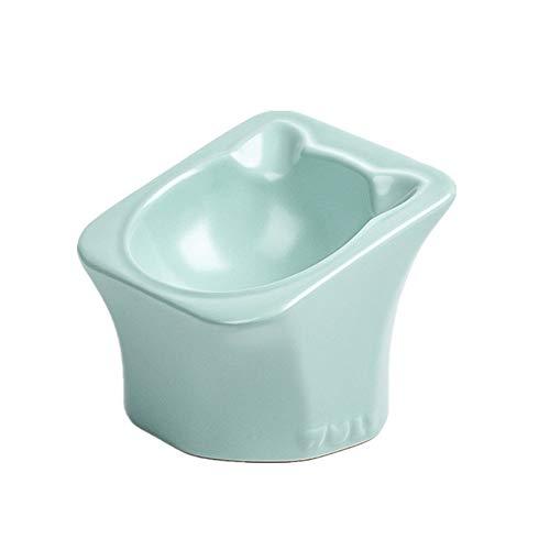 Fressnapf für Hunde und Katze, Anti-Umkippen Pet Esstisch mit erhöhten Hang Holzständer Doppelschalen Feeder Bewässerung liefert Kleintierschale Pet Dog Bowl Dual-Use-Pet Bowl Napf für Hunde und Katze -