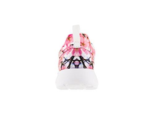 Nike Wmns Roshe One Cherry Bls, Chaussures de Sport Femme Blanc Cassé - Blanco (White / Pure Platinum)