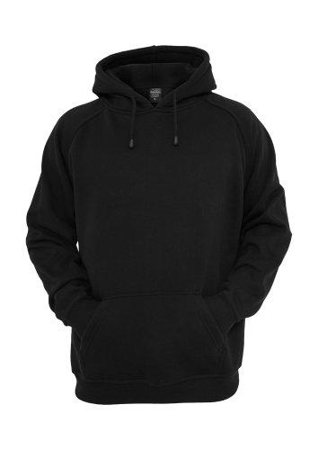 Felpa con cappuccio Urban Classics lucido, colore carbone nero XXXX-Large