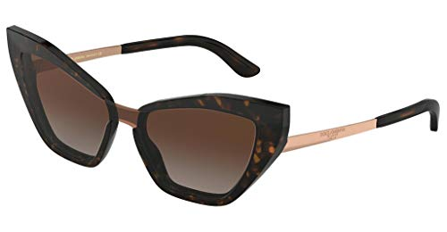 Ray-Ban Damen 0DG4357 Sonnenbrille, Mehrfarbig (Havana), 40.0