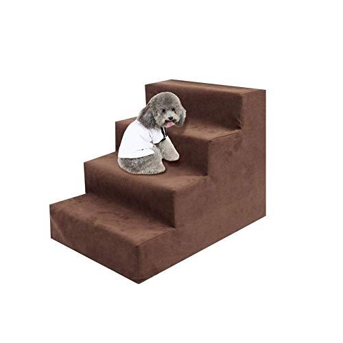 Dream catcher Escalera atrapasueños para Mascotas, escaleras de Acceso para Perros, Escalera, Escalera, Esponja, escaleras, para Cama, sofá con Funda extraíble, Lavable a máquina, 5 Colores