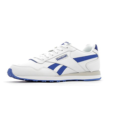 Reebok Herren Royal Glide LX Sneaker weiß (weiß / Collegiate Royal / Steel)
