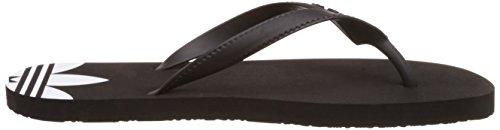 adidas - Adi Sun W, Infradito Donna Nero (Black/black/white)