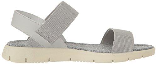 Blowfish Brit Damen Offener Spitze Textile Slingback Sandale Lt Grey