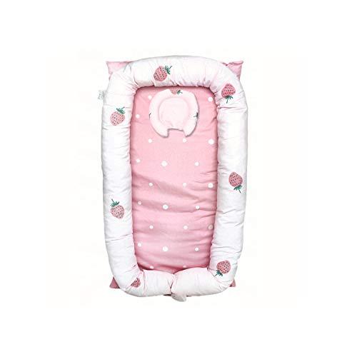 AIBAB Baby Nest, Schlafen, Kinderbett, Tragbare, Isolierte Bett, Multifunktional, Neugeborene, Bionische Bett, Bett Stoßstange, Reisebett, Atmungsaktiv, Weich