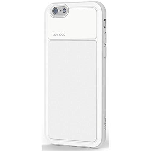 Schutzhülle für Apple iPhone 6/ 6S, Apple iPhone 5/5S, Apple iPhone 6 Plus/6+ Tasche Cover Case Bumper Schutz (Apple iPhone 6/6S, Schwarz-Grau) Weiß