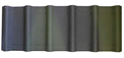 Onduvilla Dach u. Wandplatten 3D 1060x400x3,0 mm grün geflammt\'