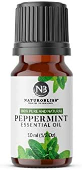 Peppermint Essential Oil, 100% Pure and Natural, Premium Therapeutic Grade peppermint oil, Aromatherapy essent