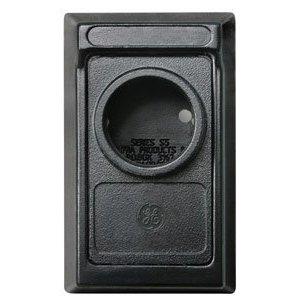 GE Sicherheit 000534Schlüsselsafe Original Permanent Einsteckschloss-Schwarz Elite Surface Mount Box