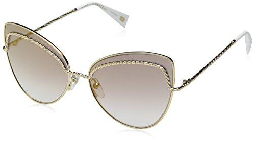 Marc Jacobs Damen Marc 255/S FQ J5G 61 Sonnenbrille, Gold/Gy Grey