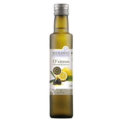 "Bio Olivenöl mit Zitrone ""O´Citron"" (Bio Planète) 250 ml"