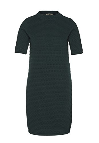 ARMEDANGELS Damen Kleid aus Bio-Baumwolle - Jalessa - M park green GOTS, ORGANIC, CERES-008 (Kleid Strukturierte Baumwolle)