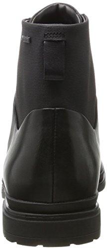 Clarks Mens Londonpace Gtx Classic Boots Nero (pelle Nera)