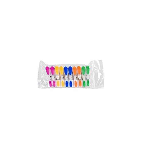 Dem 17710 Confezione 10 Molle Multiuso, Multicolore