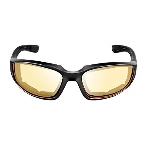 Elviray Motorrad Schutzbrille Winddicht Staubdicht Brillen Radfahren Brillen Outdoor Sports Eyewear Brillen