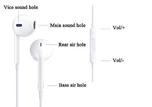 MOBIISTIC Natural Sound System High Bass in-Ear Earphone with Mic 3.5mm Jack for Y17 Image 4