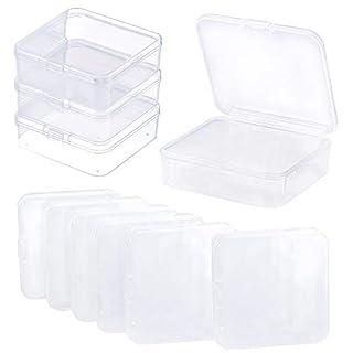 Kunststoff Organizer Box, 10Pacs Jewelry Container Box für Ohrring Werkzeug, Tiny Perle, Diamant Malerei, Angeln Haken kleine Teile