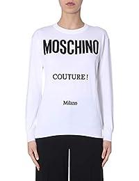 Moschino Maglione Donna 090705042001 Cotone Bianco a962ca28c79