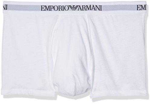 Emporio Armani Underwear Herren 111613CC722 Retroshorts, Weiß Bianco 04710), Small (erPack 2