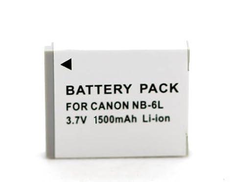 1500mAh NB-6L Batterie Ersatzbatterien f¨¹r Canon Powershot S120, SX510 HS, SX280 HS, SX500 IS, SX170 IS, S95, SX260 HS, SX700, D20, S90, D30, SX600, D10, SD1300 IS, SD1200 IS, ELPH 500, SX270, SX220, SD500, SD4000, SD7000, SX500 IS SX275HS IXUS 105 IS 200 IS 210 IS 85 IS 95 IS NB-6L Batterie