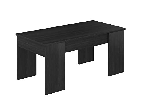 Movian - Table basse avec plateau relevable Aggol Modern, 50 x 100 x 44, Gris