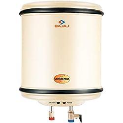 Bajaj Shakti Plus Storage 15 LTR Vertical Water Heater, Ivory, 4 Star