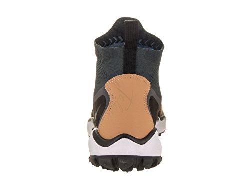 Nike Lady Air Vomero+ 4 chaussure de course à pied Anthracite / Noir-vachetta Tan-gris foncé