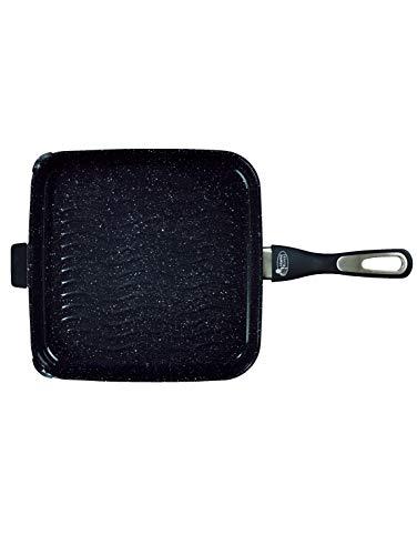 Grill und Steakpfanne mit Keramikbeschichtung 28x28x40cm für alle Herdarten geeignet