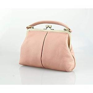 Handtasche Kleine Olive in rosa, Ledertasche