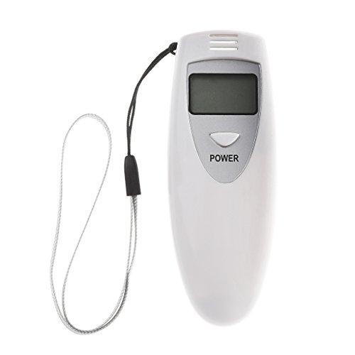 Qiman Portátil Mini Digital LCD Digital Alcohol Tester Tester Alcoholímetro