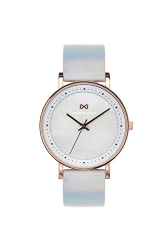 Mark Maddox Women's Analogue Quartz Watch with Leather Strap MC0102-77