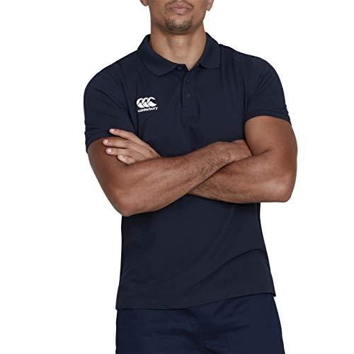 Lässige Rugby-shirts (Canterbury Men's Waimak Polo Shirt - Navy, 4XL)