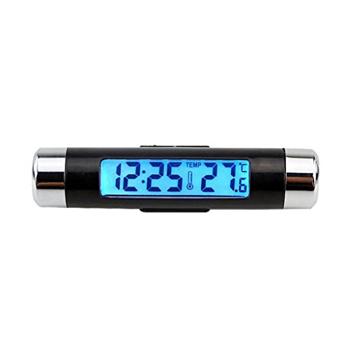 D DOLITY LCD Auto Innen und Außen Thermometer, Raumklimakontrolle, 8,2 x 1,8 cm